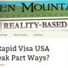 Why did Rapid Visa USA and Jay Peak Part Ways?