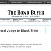 Florida Lawsuit asks Federal Judge to Block Train Bonds