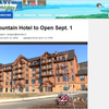 Burke Mountain Hotel to Open Sept. 1