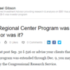 The EB-5 Regional Center Program was extended...or was it?