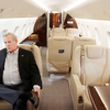 Hogan opens Q-C hangar for corporate jets