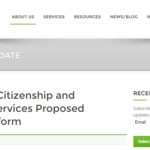 United States Citizenship and Immigration Services Proposed Regulatory Reform