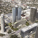 Construction Underway at $2.5-Billion Century Plaza Redevelopment