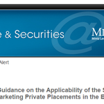 FINRA Provides Guidance on the Applicability of the Suitability Rule to Broker-Dealers Marketing Private Placements in the EB-5 Context