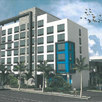 Wyndham Grand Hotel breaks ground with $15M construction loan