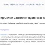 American Lending Center Celebrates Hyatt Place Santa Cruz Opening