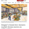 Dargey's Grand Ave. farmers market dream moves on without him