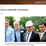 State seeks firm to redact EB-5 documents
