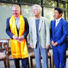 Tom Skerritt & Tibetan Monks Break Ground on Potala Tower
