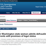 Former Washington state woman admits defrauding immigrants with promises of legal status