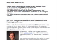 How a D.C. EB-5 Venture Helped Bring About the Regional Center Project Approval Process