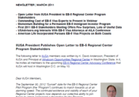 IIUSA President Publishes Open Letter to EB-5 Regional Center Program Stakeholders