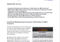 Investment Reimbursement Insurance : A Safe Option for EB-5 Investors?