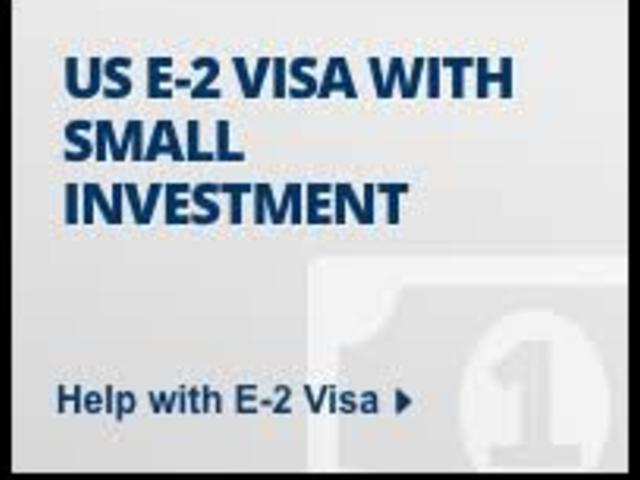 Normal e2 investment visa
