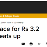 Global Pindwale - Race for Rs 3.2 crore ticket to US heats up