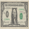 Thumb united states one dollar bill  obverse