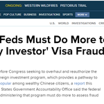 Report: Feds Must Do More to Assess 'Wealthy Investor' Visa Fraud