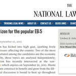 Reform on the horizon for the popular EB-5 Program