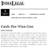 Cash-for-Visa Con