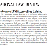 Five Common EB-5 Misconceptions Explained