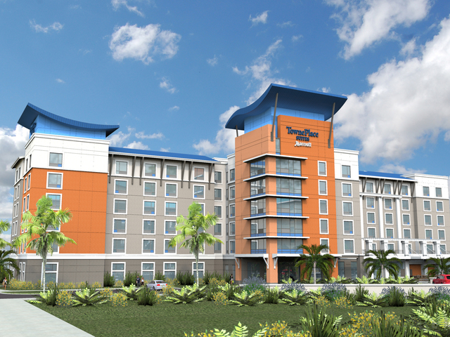 Towneplace suites rendering