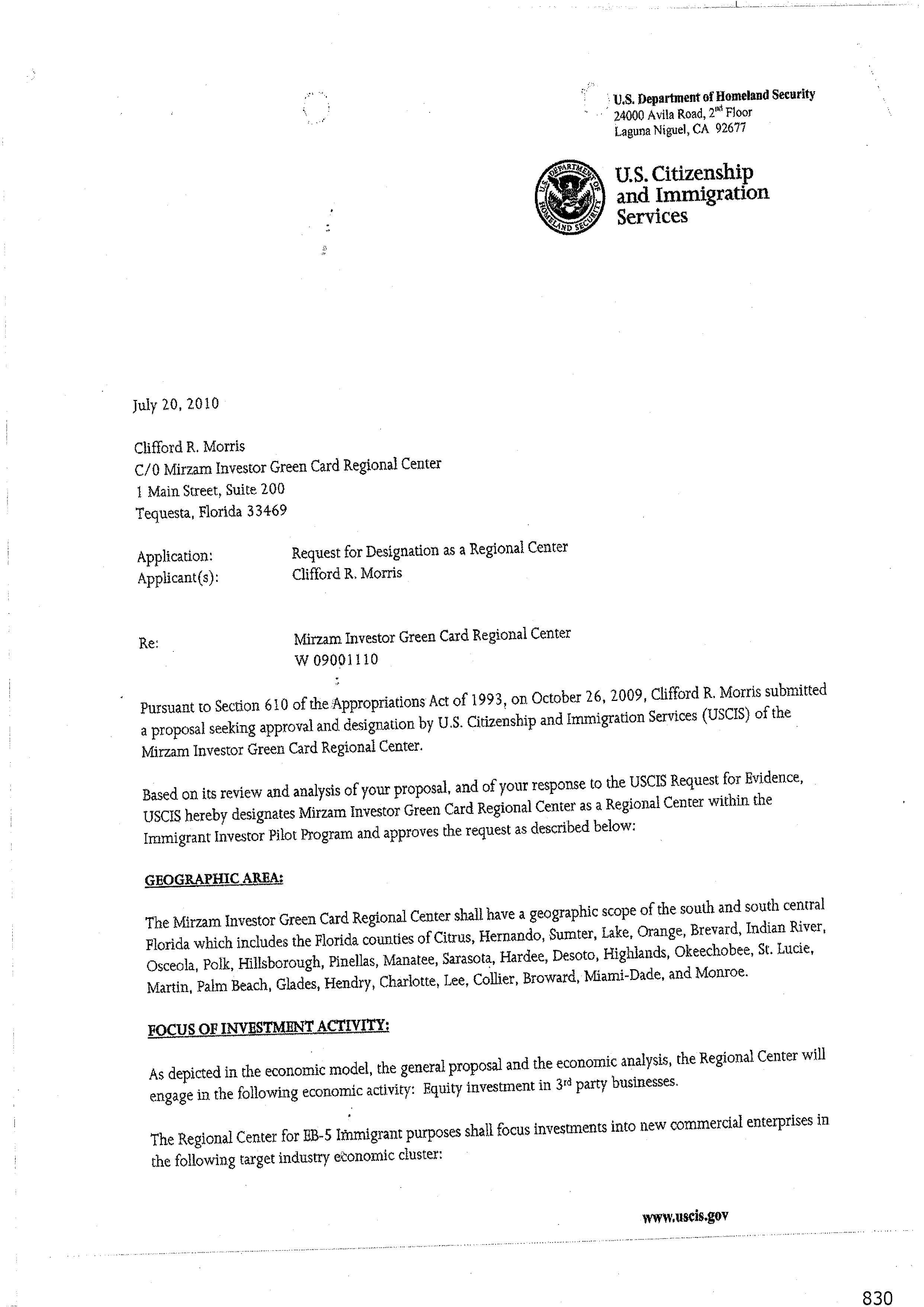 resume Green Card Resume mirzam investor green card regional center download