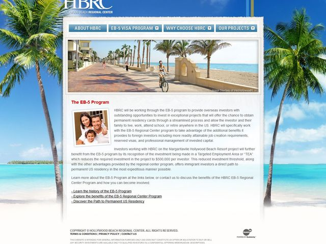 Hollywood Beach Regional Center screenshot