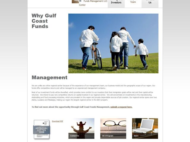 Gulf Coast Funds Management screenshot