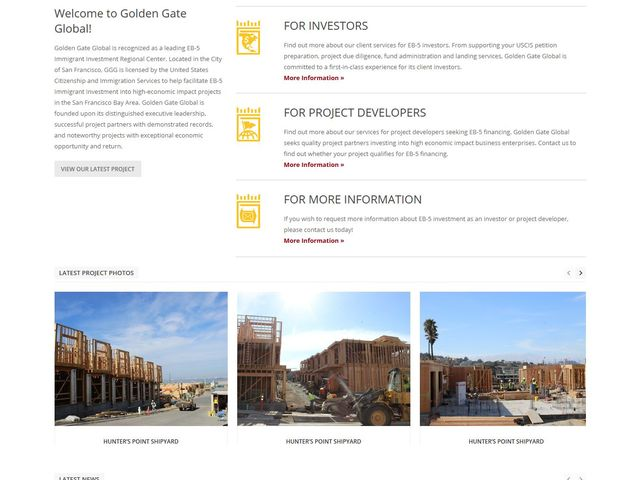 Golden Gate Global EB-5 Investment Fund screenshot