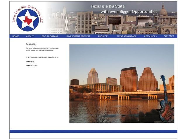 Texas Lone Star Enterprises screenshot