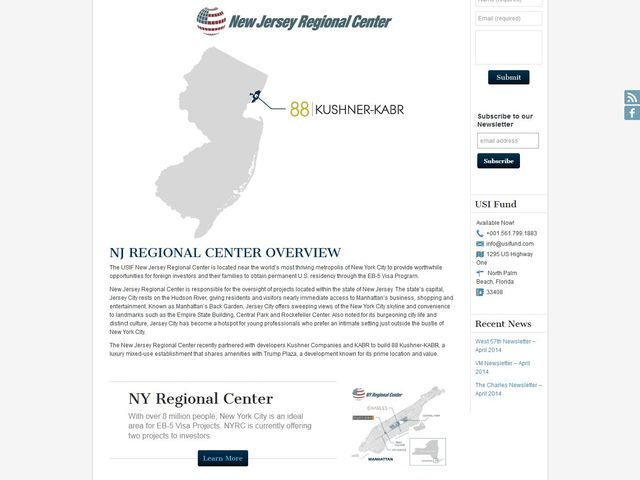 U.S. Immigration Fund - NJ screenshot