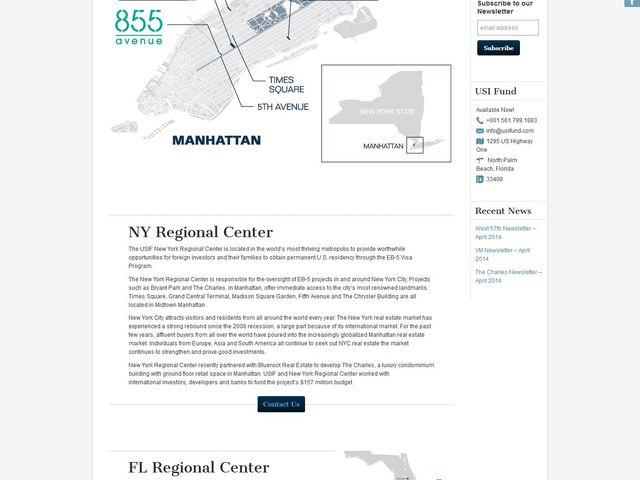 U.S. Immigration Fund - NY screenshot