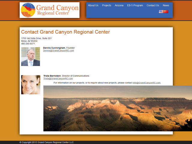 Grand Canyon Regional Center screenshot