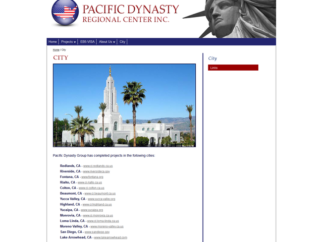 Pacific Dynasty Regional Center screenshot