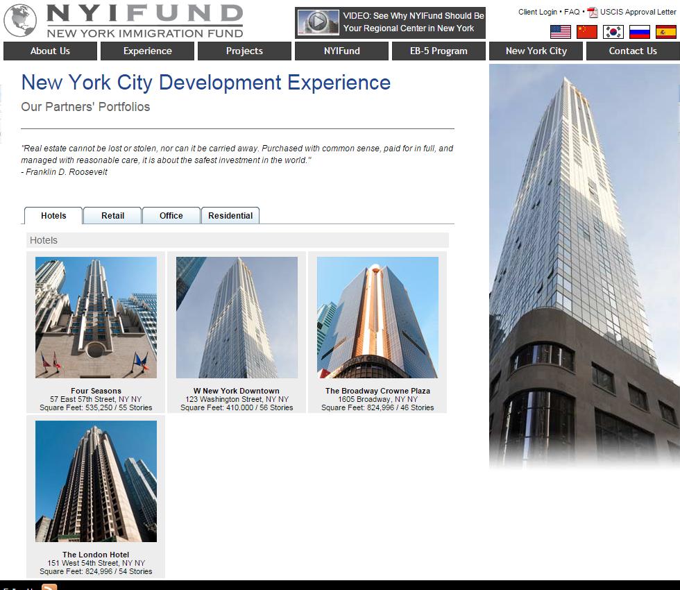 Latest Immigration News: New York Immigration Fund Regional Center