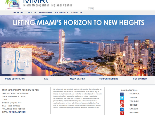 Miami Metropolitan Regional Center screenshot