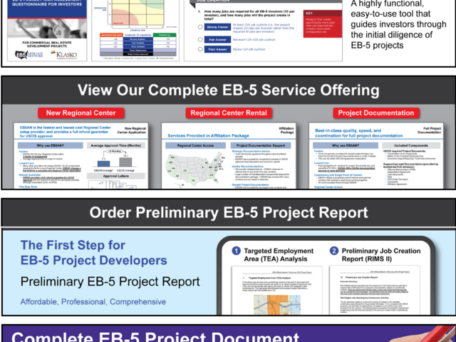 EB5 Affiliate Network State of Colorado Regional Center screenshot