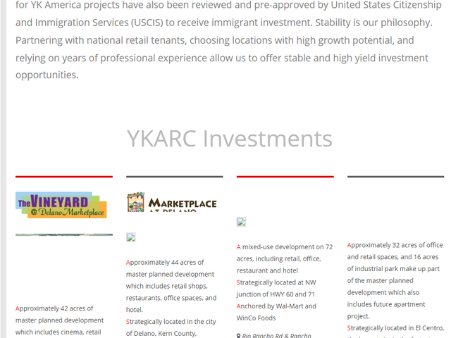 YK America Regional Center screenshot