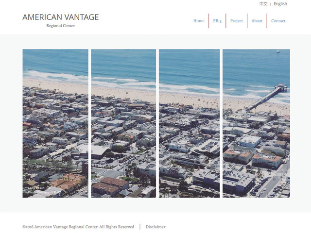 American Vantage Regional Center screenshot