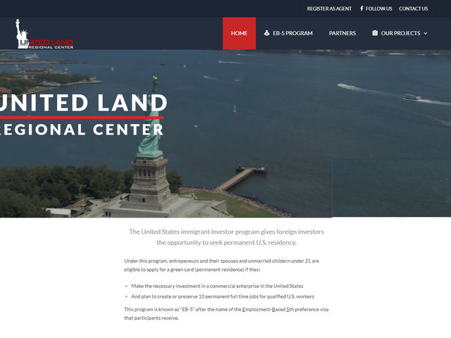 United Land RC LLC screenshot