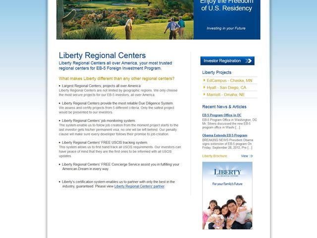 Liberty West Regional Center screenshot