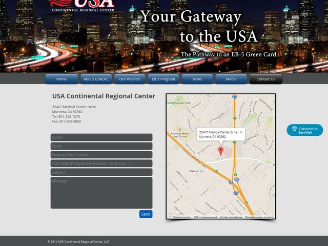 Continental Regional Center(former name USA Continental Regional Center) screenshot