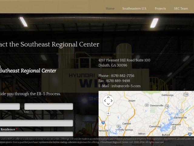 Southeast Regional Center screenshot