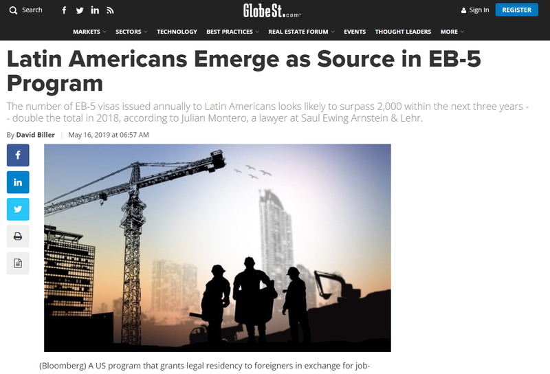 Latin Americans Emerge as Source in EB-5 Program