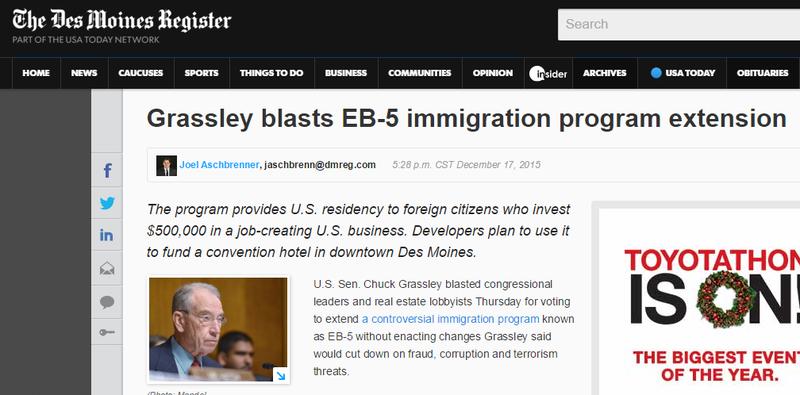 EB-5 Visa Business Plans