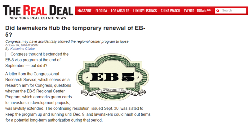 EB-5 Visa, EB5 Visa, EB-5 Investment