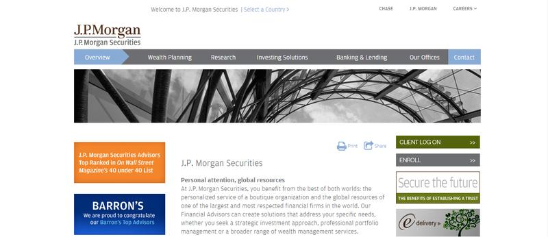 J P Morgan Securities Firm