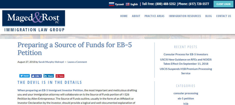 EB-5 Visa, EB5 Visa, EB5 Investments