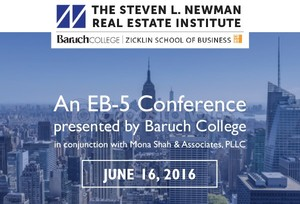 Baruch College EB-5 Conference