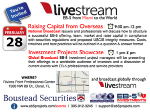 EB-5 Investment Projects Showcase: Miami!